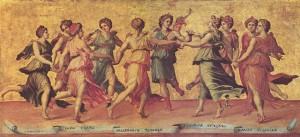 Nine Muses, Giulio Romano